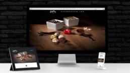 Brigabon's Shopify store on mobile and desktop.
