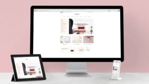 Sugar Paper's Shopify store on mobile and desktop.